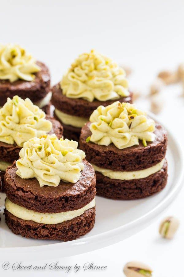 Mini Chocolate Layer Cakes