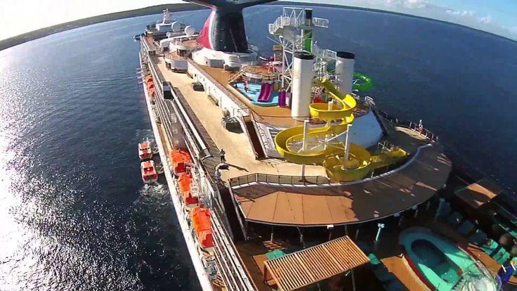 Phantom 2 Vision Plus (P2V+) on the Carnival Spirit Cruise
