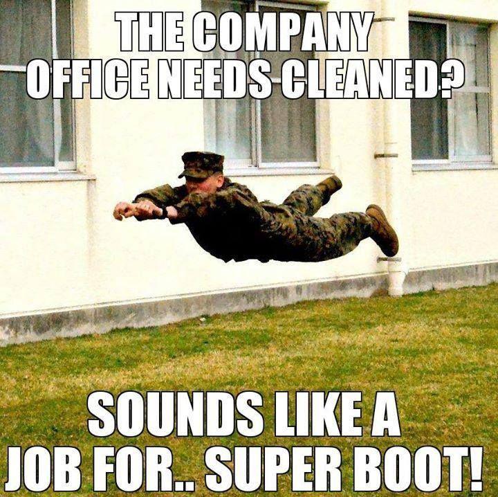 Military Humor: Super Boot ~~ MilitaryAvenue.com