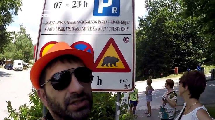 По Миру // День четвертый // мы в Хорватии // национальный парк // дорог...