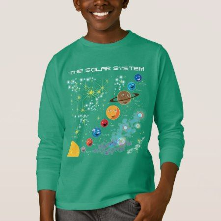 The Solar System T-Shirt - tap to personalize and get yours
