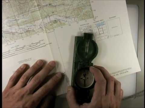 Land Navigation - Lensatic Compass and Map Use