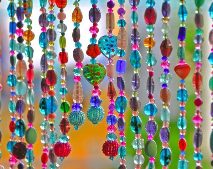 As 25 melhores ideias de cortina boho no pinterest - Cortinas de abalorios ...
