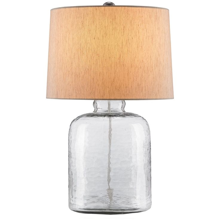 Currey and Company Rob Roy Clear Table Lamp