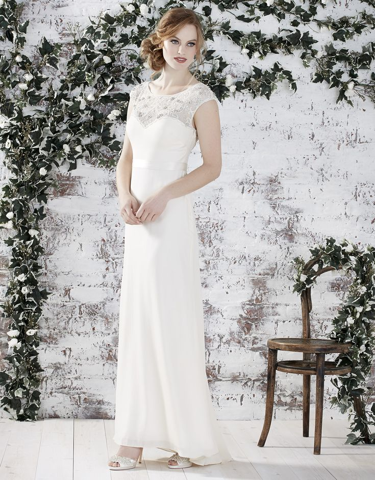 Delaney Wedding Dress | Monsoon Bridal Collection | http://www.rockmywedding.co.uk/win-your-favourite-monsoon-wedding-dress/