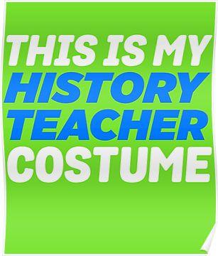 My History Teacher Costume