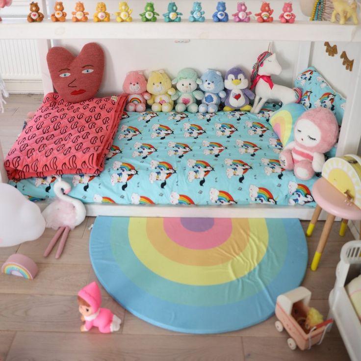 Pastel Rainbow Playmat & Rug by Kids Boetiek - £45