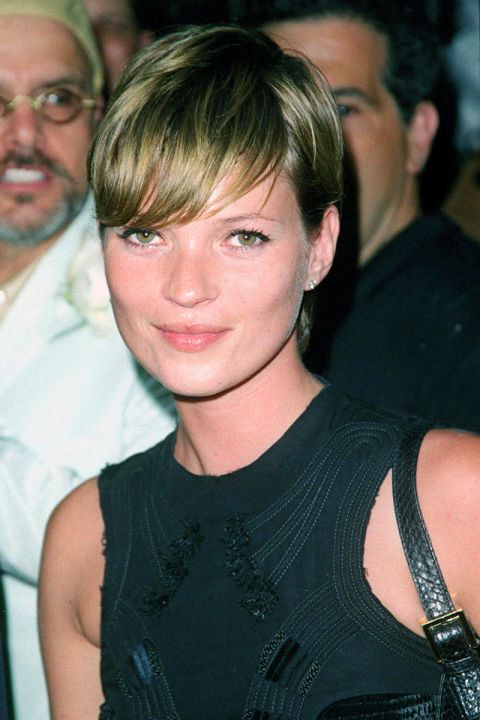 Kate Moss. See the 33 other best celebrity pixie cuts in history.