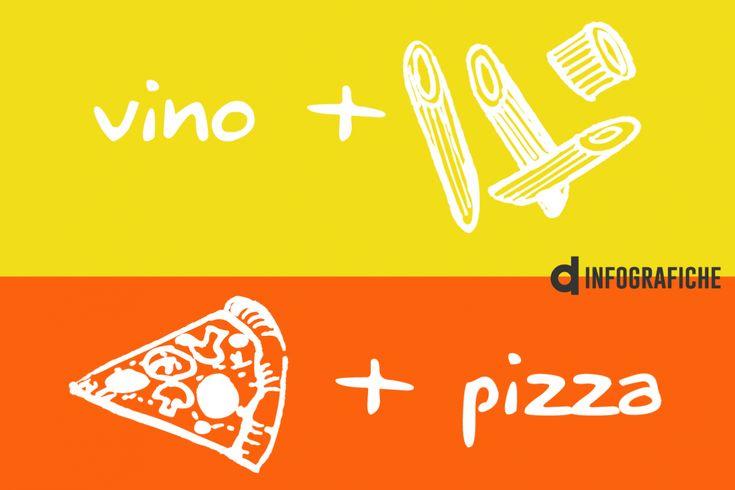 Pasta e pizza: il vino più adatto per ogni tipo