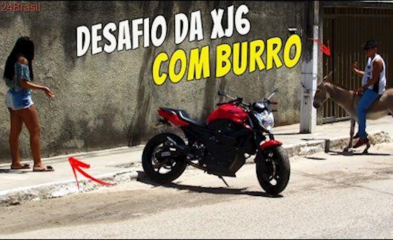 DESAFIO DA XJ6 (COM BURRO) - MULHER INTERESSEIRA