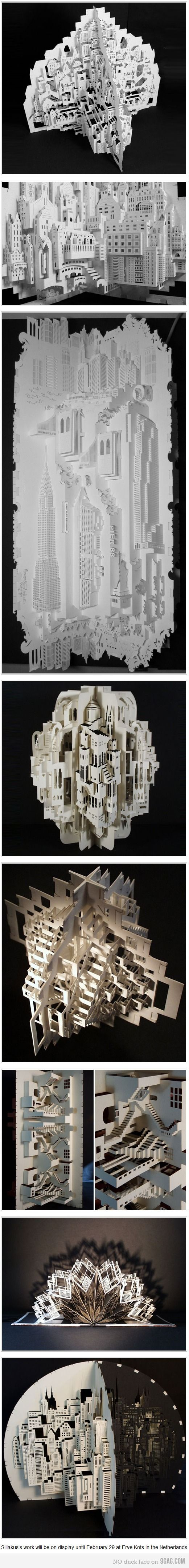 Cities Made Of Paper by Ingrid Siliakus