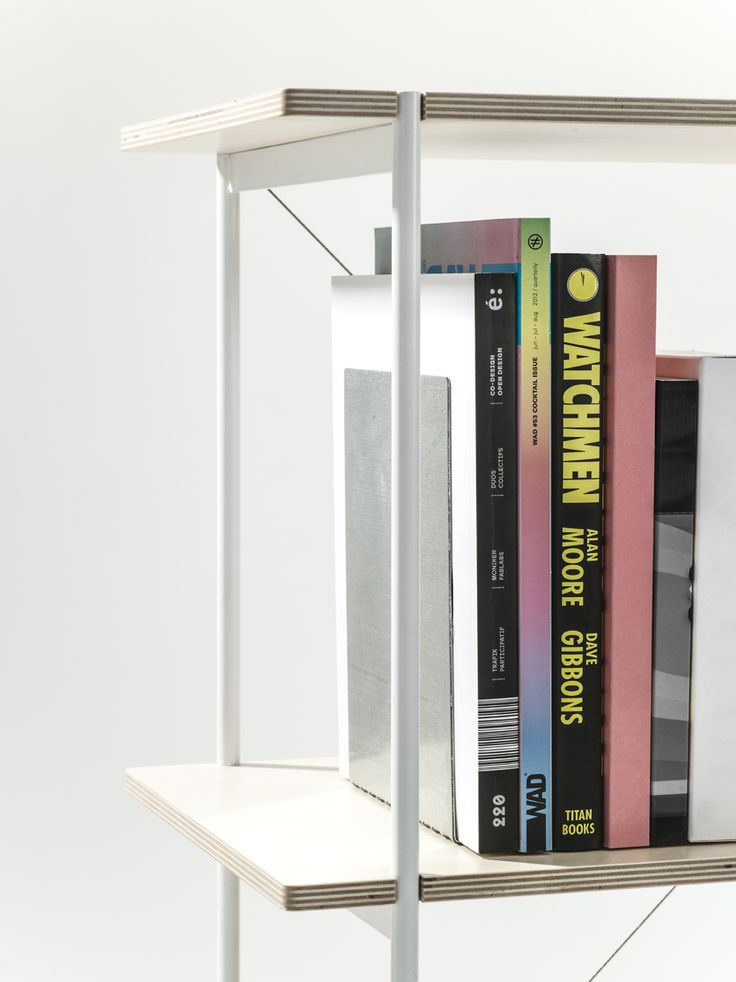 Our Book End is sturdy and will easily keep a heavy load of books, magazines or catalogues in place.