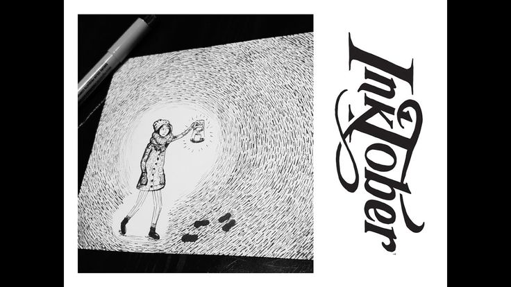 INKTOBER 2016 #7: LOST  Youtube   Matilda Fryxell   Art  https://www.youtube.com/channel/UCE98xyWOGdPO6Z7z1QkOgjA
