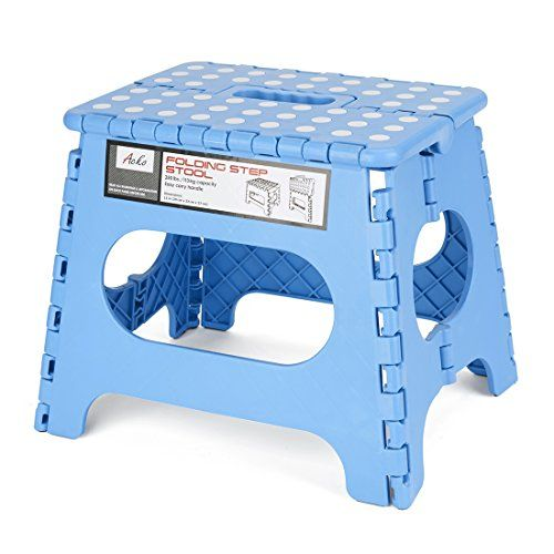 Acko Sky Blue 11 Inches Non Slip Folding Step Stool for Kids and Adults with Handle Holds up to 250 LBS (Sky Blue) - ? Fold And Unfold It Using Only One ...  sc 1 st  Pinterest & Best 25+ Step stool for kids ideas on Pinterest   Kids stool Kids ... islam-shia.org