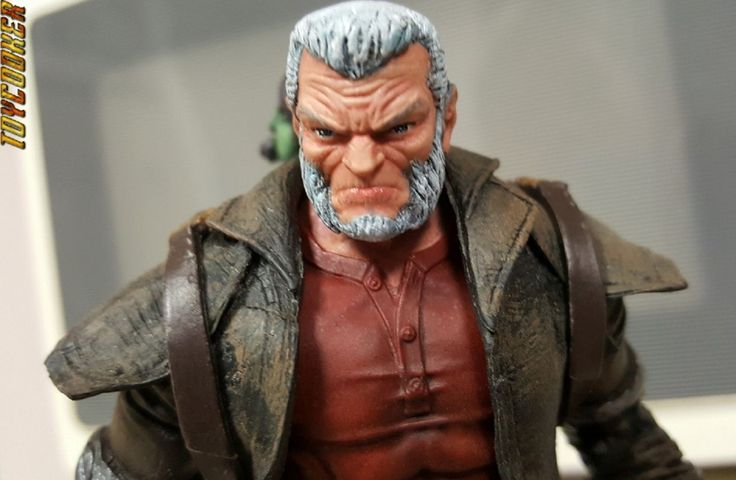 Old Man Logan with Baby Hulk and Upgrades (Marvel Legends) Custom Action Figure by Toycooker Base figure: Old Man Logan