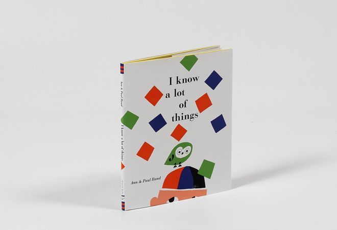 Shop | Design and Craft | Gifts | Makers&Brothers | Makers & Brothers | I know a lot of things | Paul Rand | Ann Rand | illustration | modernist | children's book