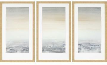 $229 Sable Island Framed Wall Art - Set of 3