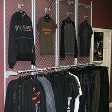 Clothing Racks, Store Fixtures, and Retail Supplies
