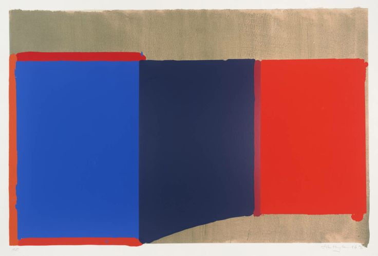 John Hoyland, Blues, Reds, 1969