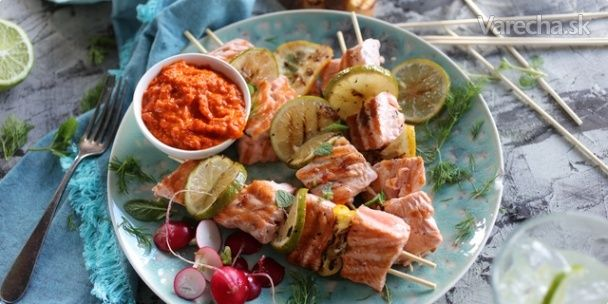 Ražniči z lososa
