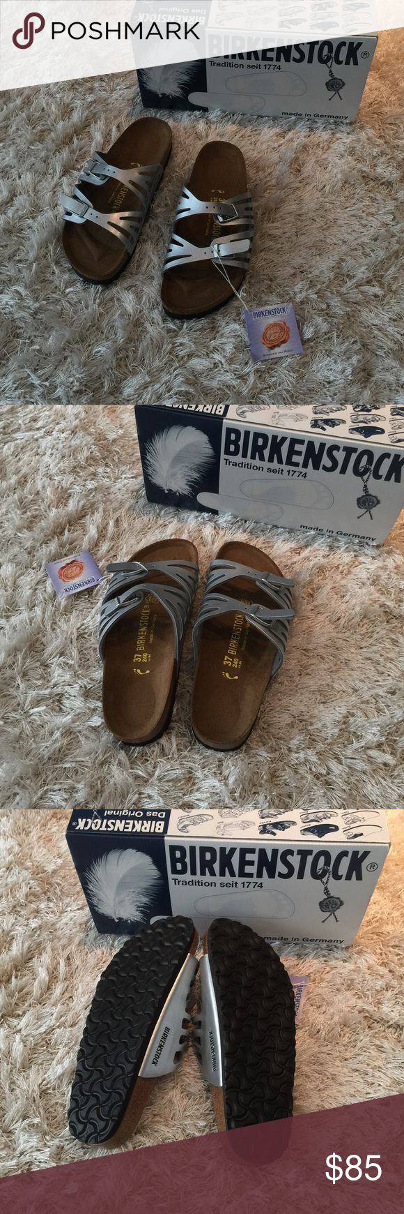 NWT Birkenstock slipper size 6 /37 New in box. Size 6. EU size 37 Birkenstock Shoes Slippers