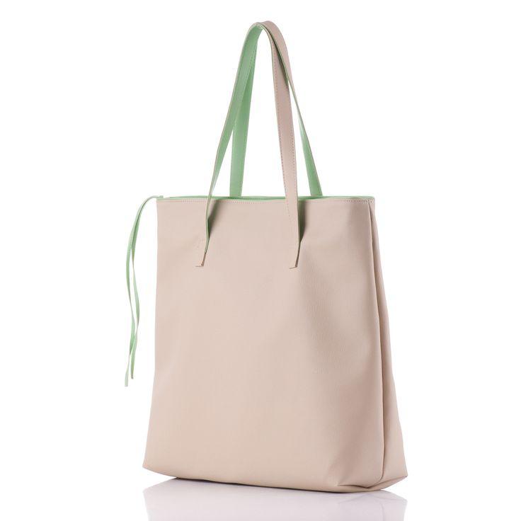 Shopper bag casual www.nouriso.ro