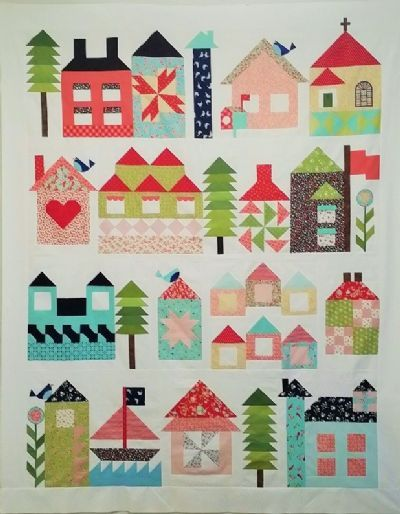 94 Best Images About Be My Neighbor Moda Bom On Pinterest Church Building Quilt And Free Pattern