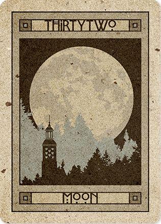 Moon - CHELSEA LENORMAND  http://www.malpertuis.co.uk/site/chelsea-lenormand.html