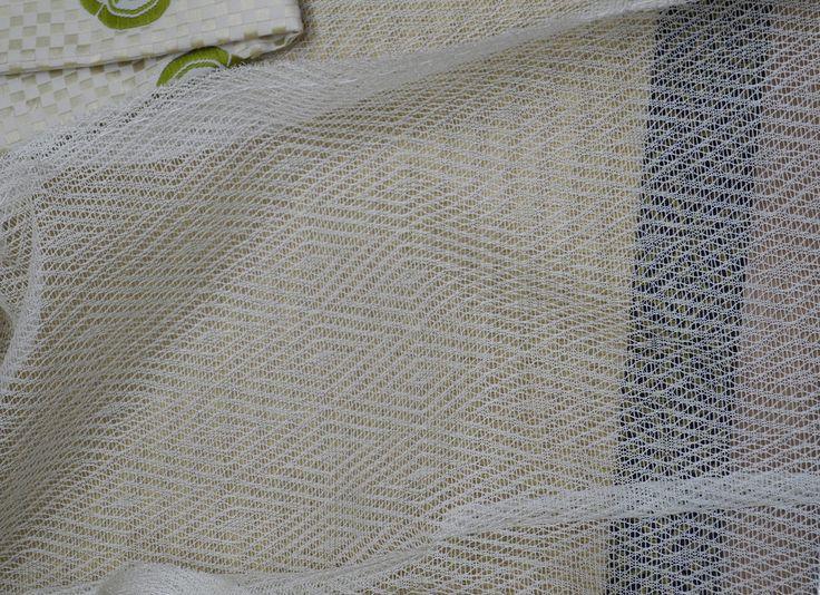 入子菱文様 有職文様 closeup of the exquisite mo fabric, far more translucent than usually seen. The costume museum. Photo courtesy of Saionji Shonagon via Flikr: www.flickr.com/photos/70104978@N00/sets