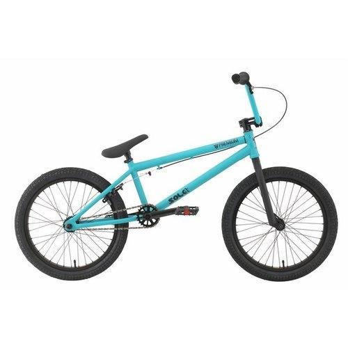 """Premium Solo BMX Bike Matte Seafoam 20"""""""