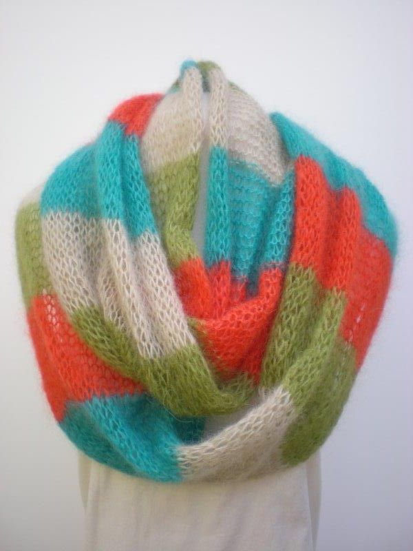 Tropical island in baby mohair by MK
