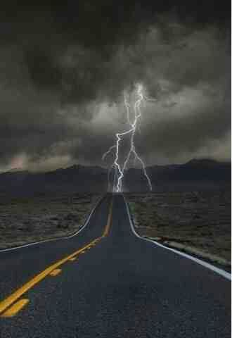 Windy Cloudy road to nowhere and everywhere