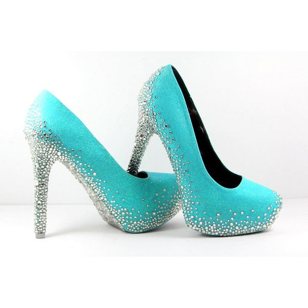 Aqua Blue Heels - Heel Direct