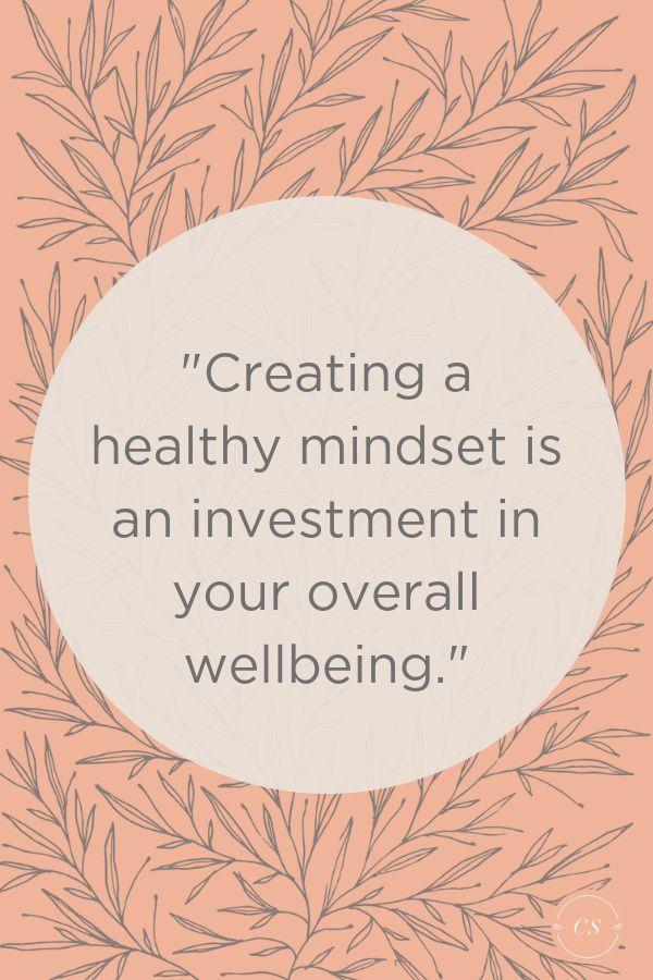 Die Schaffung einer gesunden Denkweise ist eine Investition in Ihr gesamtes Wohlbefinden. Versicher dich…   – Body