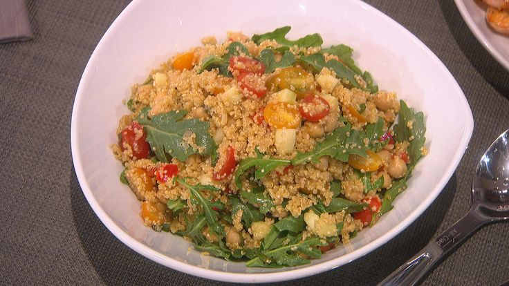 Quinoa Salad with Chickpeas and Tomatoes | Recipies/Food | Pinterest