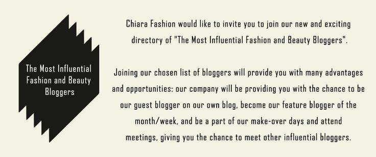 The Most Influential Fashion and Beauty Bloggers