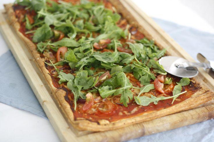 Pizza plaattaart - Chickslovefood.com