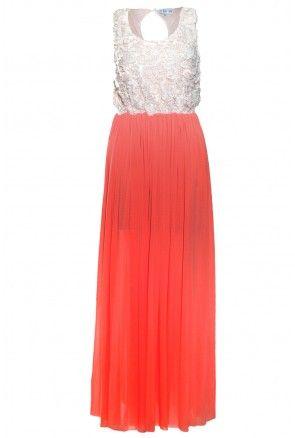 Rose Bodice Maxi Dress - All Dresses - Dresses