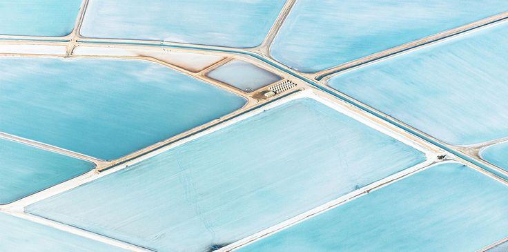 Os campos de sal na Austrália que parecem pinturas vistos de cima | Nômades Digitais