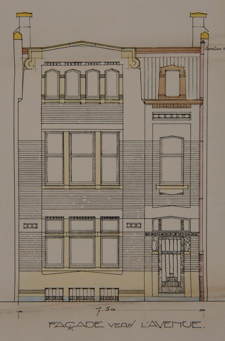166 Best Drawing Fasades Art Deco Bruxelles Images On Pinterest