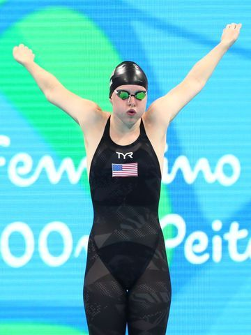 Lilly King (USA) before the women's 100m breaststroke