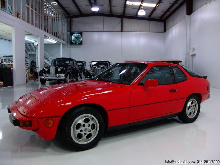 1987 PORSCHE 924S     Daniel Schmitt & Co.  www.schmitt.com  314.291.7000