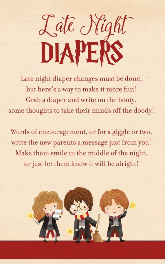 Image Result For Harry Potter Themed Baby Shower Game Ideas Harry
