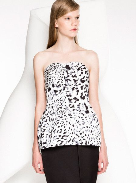 Keepsake - The Label - Let Go Bodice - Snow Leopard $149.90