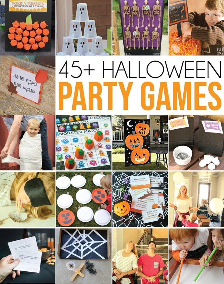 The most awesome Halloween party games for all ages – tons of great ideas for ad…