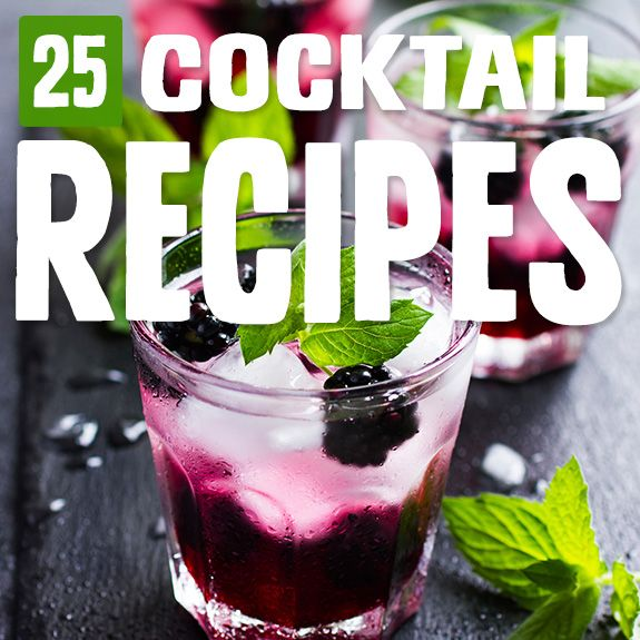 25 Cocktail Recipes That Are Paleo-Approved