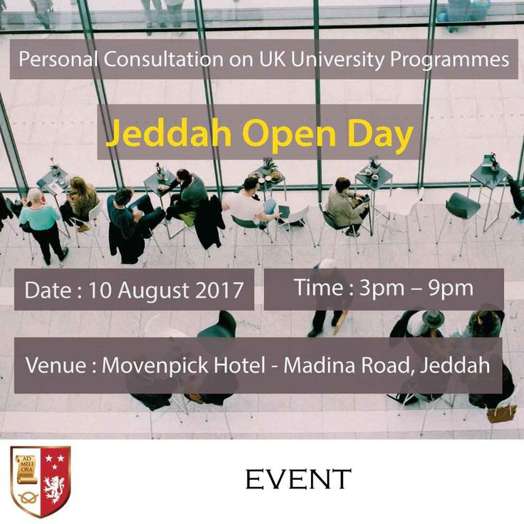 | Jeddah Open Day - Personal Consultation on UK University Programmes |  We at Stafford are dedicated in helping you with your education needs. Let us help you get your Certificate, Diploma, Bachelors, Masters, MBA, or Doctorate degree.   Register to our Open Day Event and bring a copy of your CV for immediate assessment of your eligibility.   Go to the link and register:  | http://blog.staffordglobal.org/events/uk-university-distance-learning-programmes-jeddah |  #BA #MSc #DBA #Education…