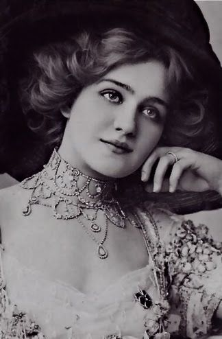Lily Elsie, le Belle Epoque Beauty, British actress of the 1900s