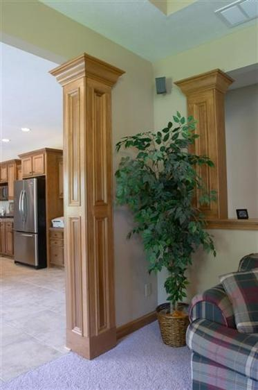 Square Column Trim : Best images about trim columns and molding on