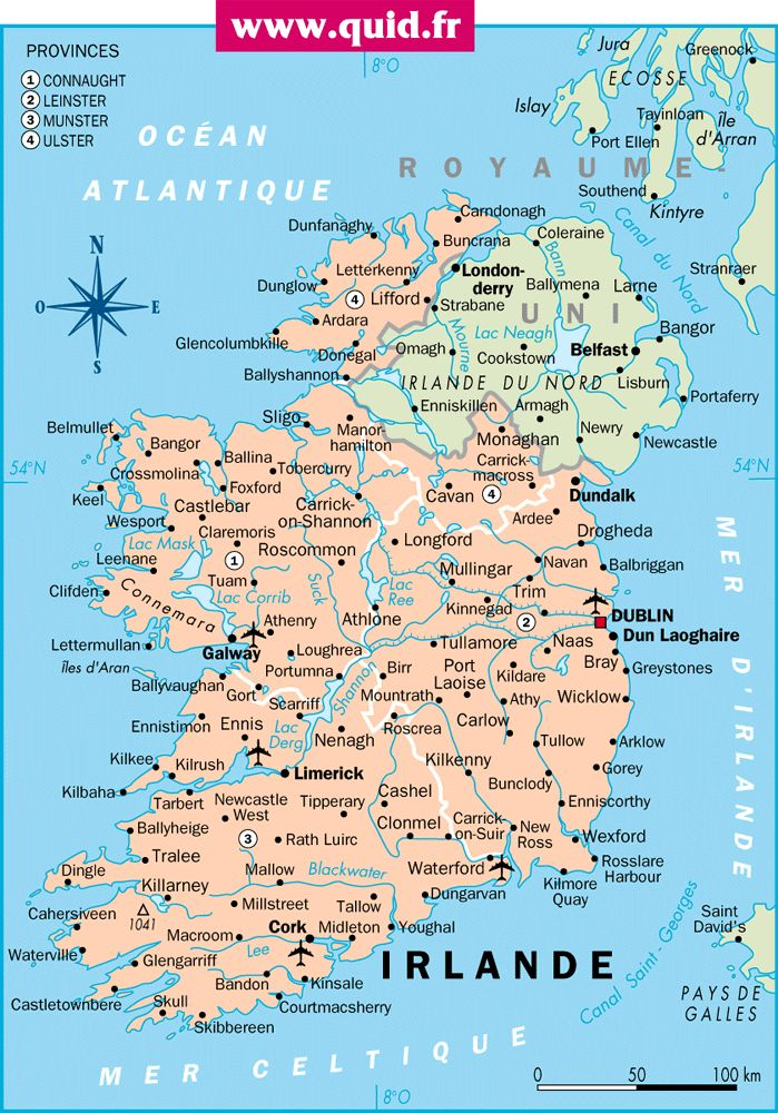Oltre 25 fantastiche idee su Irlanda mapa su Pinterest  Irlanda